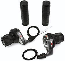 SRAM X0 2/3x9-Speed MTB Bike Grip Shift Twist Shifter Set Front & Rear 1:1 XO