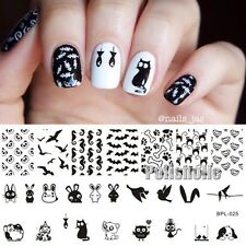 Nail Art Stamp Template Animal Theme Image Stamping Plate BP-L025 12.5 x 6.5cm