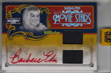 "2008 CELEBRITY CUTS DUAL WORN SWATCH AUTO: BARBARA EDEN #3/10 AUTOGRAPH""JEANNIE"""
