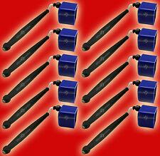 10 Blue Pocket Chalkers-Pocket Chalk Holder/Chalker for Pool/Billiards Cue Chalk