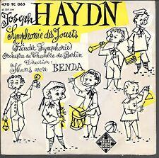 EP CLASSIQUE--JOSEPH HAYDN--SYMPHONIE DES JOUETS EN UT MAJEUR