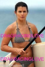 Danica Patrick Race Car Driver SUPER HOT SEXY Bikini 8x10 Candid PHOTO!