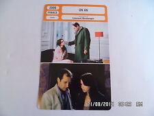 CARTE FICHE CINEMA 2006 UN AN Natalia Dontcheva Denis Podalydes H.Girardot Szabo