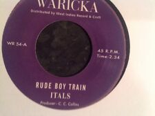 RUDE BOY TRAIN  / SIR COLLINS SPECIAL / L. CHARMERS