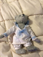 VINTAGE VICTORIAN MEMORIES GREY JOAN GREENE 334/9500 TEDDY BEAR DOLL NIGHTGOWN