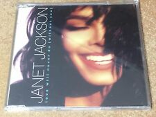 Janet Jackson Love Will Never Do (Without You) Single CD