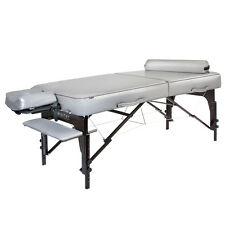 Master Massage 30 inch Montour Memory Foam Portable Table Bed Package Dove Grey
