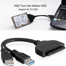 USB3.0 to 2.5inch HDD SATA Hard Drive Cable Adapter for SATA3.0 SSD&HDD HS