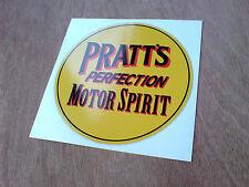 Pratts perfezione MOTORE spirito classico auto petrolio Adesivo Decalcomania 1 OFF 100mm