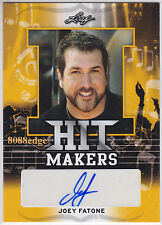 2016 POP CENTURY HIT MAKERS AUTO-JOEY FATONE #1/1 OF ONE AUTOGRAPH NSYNC #1 HITS