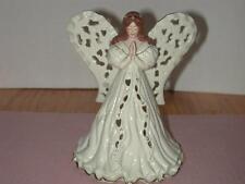 Lenox Angel of Adoration  Votive 2001 Excellent - No Box