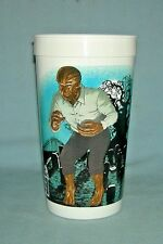 Vintage Getty Mart Universal Monster Drink Cup The Wolfman