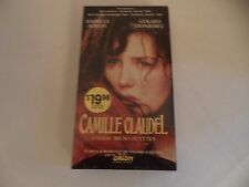 Camille Claudel  (VHS) Starring Isabelle Adjani  New!  SEALED! ***IN FRENCH