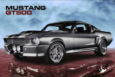 Ford LAMINATED POSTER Shelby Mustang GT500 Muscle Car High Performance Vehicle