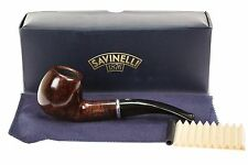 Savinelli Arcobaleno 626 Brown Tobacco Pipe - Smooth