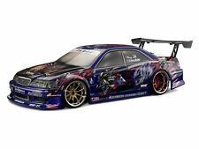 WELD JZX100 TOYOTA MARK II 1/10 NITRO RC CAR 60+MPH 2 SPEED RTR CUSTOM PAINTED