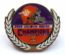 2014 Discover Orange Bowl Champs Pin - Clemson Tigers