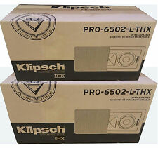Brand New Klipsch PRO-6502-L-THX In-Wall Speakers ( 1 Pair)