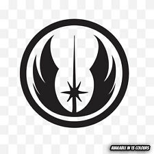 STAR WARS JEDI ORDER LOGO Vinyl Graphic Decal Sticker for car window laptop