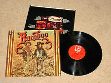 ROCK  BAMBOO SELF TITLED ELEKTRA LP DAVE RAY EXCELLENT *