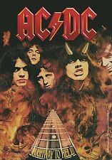 AC/DC Highway To Hell large fabric poster / flag   1100mm x 750mm (hr)