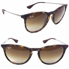 Genuine Ray Ban Erika RB4171 865/13 54mm Womens Sunglasses Havana Poly Brown