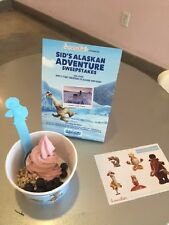 MENCHIE'S MENCHIES ICE AGE COLLISION COURSE SCRAT BLUE RETIRED SPOON! YOGURT