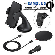 Genuine Qi Wireless Charger Dock Mount Holder For Samsung Galaxy S7 Car Charger