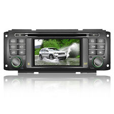 US Autoradio DVD GPS Navigation Stereo Headunit For Chrysler Sebring Dodge Jeep