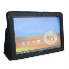Folding Leather Stand Case Cover for Huawei MediaPad 10 FHD Black