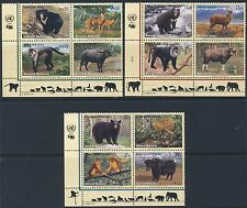 UN - All 3 Offices . 2004 Endangered Species (12) . Mint Never Hinged