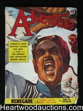 """Adventure"" January 1949 Malvin Singer  Cvr - High Grade"
