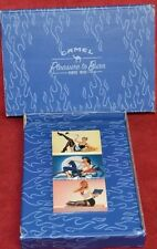 Camel Pleasure to Burn Boxed Set of 3 Stick Match Boxes 2005