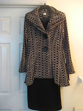 NWT Song&Sung by Design Today's Wired Collar Blazer/Long Skirt Suit M MSRP $488