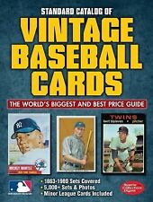 Standard Catalog of Vintage Baseball Cards Brand New & Free Shipping