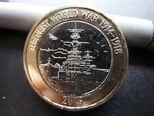 2015 Royal Navy Belfast Ship £2 Two Pound UNCIRCULATED Coin 'Very low mintage'