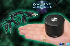 Rechargeable Bluetooth Speaker for Spirit Box PSB7 EVP MP3 USB Ghost Hunt Silver
