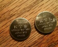 Kts lithium battery   CR2032 2 pieces