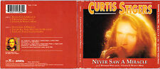 Curtis Stigers - Never Saw A Miracle - Scarce UK 6 track 2CD set