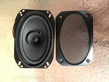 4 by 6  inch speaker pair  auto OEM replacement universal with wire and grill