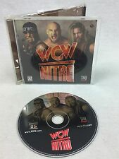 WCW Nitro PC game Wrestling WWE Stars NWO Hogan Sting DDP Nash Goldberg