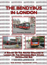 The Bendybus In London, video of the London Mercedes-Benz Citaro articulated bus