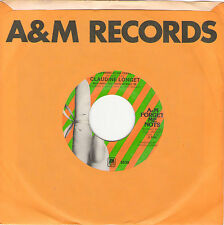 45 rpm - CLAUDINE LONGET - back to back A MAN AND A WOMAN / MEDITATION - NM
