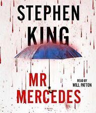 MR MERCEDES unabridged audio book on CD by STEPHEN KING