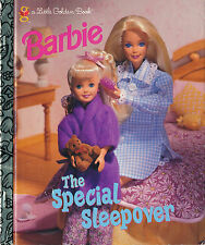 "Little Golden Book : Barbie : The Special Sleepover : First Edition 1997 ""A"""