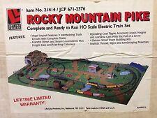 Life Like 21414 Rocky Mountain Pike HO Complete Train Set