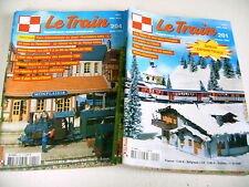 lot 6 catalogues revues LE TRAIN n° 201 à 206 - 2005