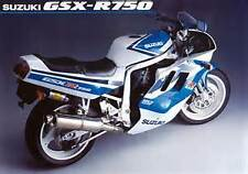 SUZUKI GSXR 750 M 1991 PARTS MANUAL slingshot PAPER BOUND COPY 60 DETAIL PAGES