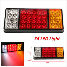 1x 12V 36 LED Ute Rear Trailer Tail Lights Caravan Truck Boat Car Indicator Lamp