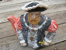 Leonardo Collection Ceramic Novelty Decoration Tea Pot English King Henry VIII